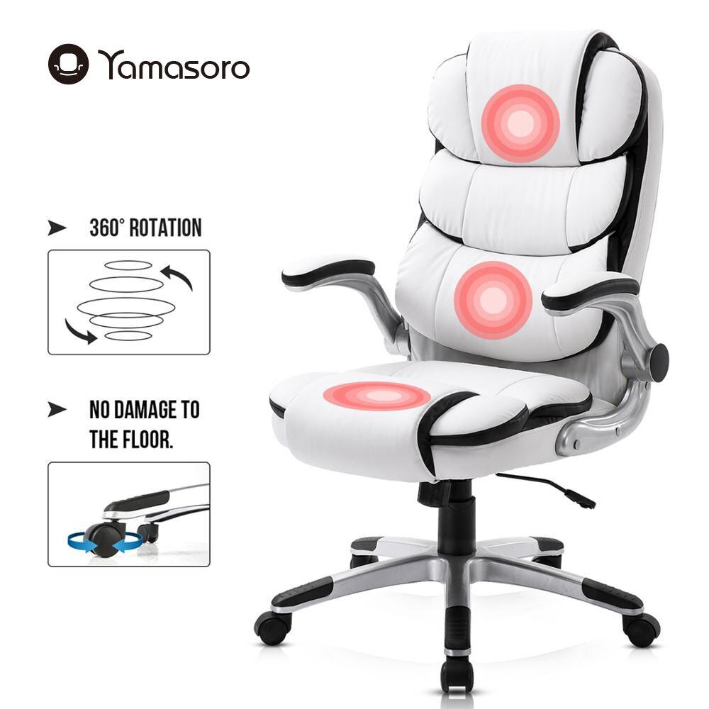 Yamasoro компьютерный стул босс компьютерный стул офисный дом поворотный стул из кожи подъемный регулируемый стул