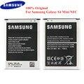 100% Оригинальный Батарея B500BE для samsung Galaxy S4 мини GT-I9190 I9192 I919 I9195 I9198 1900 мА/ч  телефонная батарея с NFC B500BU