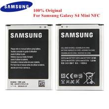 Оригинальный аккумулятор B500BE B500BU для Samsung Galaxy S4 Mini GT I9190 I9192 I919 I9195 I9198 1900 мАч с NFC 3/4 контактами