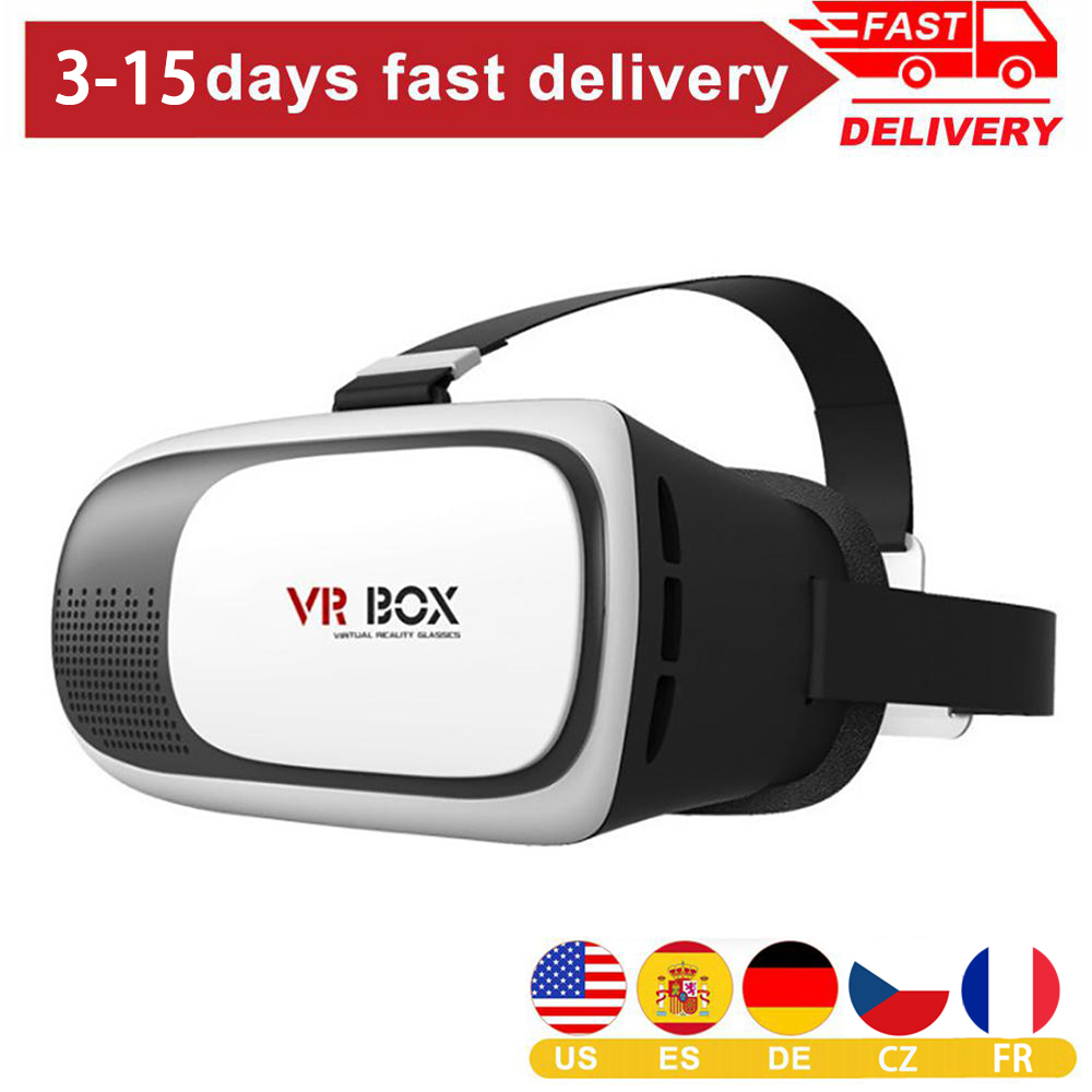 1Pc Portable 4.7-6inch Mobile Phone VR Polarize Glasses Box Movie 3D Goggles Headset Helmet Including User Manual