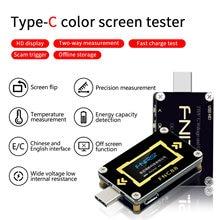 FNC88 Type C PD Trigger USB Cโวลต์มิเตอร์แอมป์มิเตอร์แรงดันไฟฟ้า 2 Way Current Meterมัลติมิเตอร์PD Chargerแบตเตอรี่USB Tester