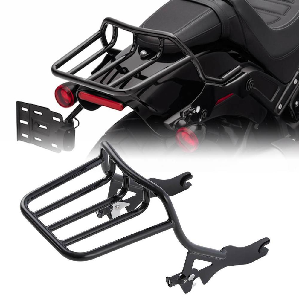 Motorcycle 2-up Luggage Rack For Harley Street Bob Fxbb Deluxe Flde Softail Slim Flsl 2018-2020 Heritage Classic 114 Flhcs Attractive Appearance