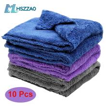 3 5 10 pcs Extra Soft Car Wash Microfiber Towel Car Cleaning Drying Cloth Car Care Cloth Detailing Car WashTowel Never Scrat cheap CN(Origin) Multifunctional Towel 40x40 blue gray purple 40x40cm Car and home