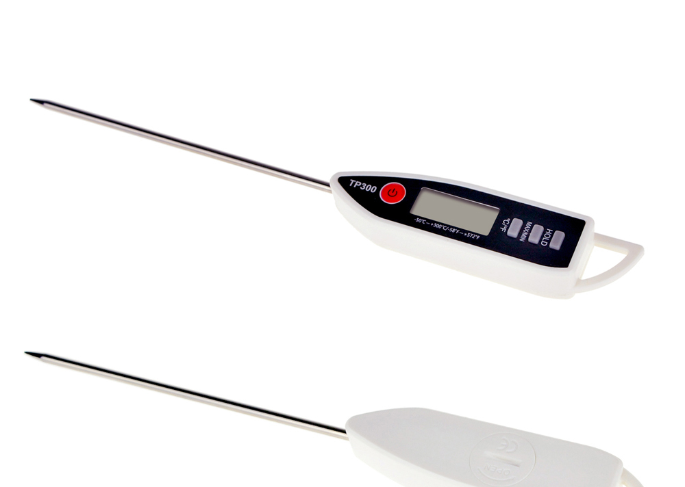 MOSEKO Newest Digital Food Thermometer for Cooked Food Barbecue and Milk with LCD Display and Temperature Control Key and Stainless Steel Probe 13