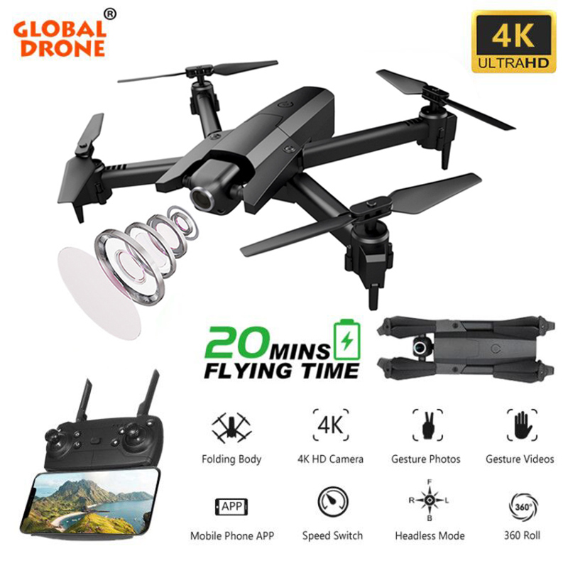 Drone 4K Dron Drones with Camera HD RC Helicopter Machines on the Control Panel Mini Drone Quadrocopter VS SG106 M71 E520 KF609 image