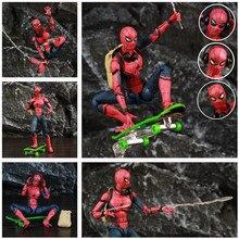 "Película Homecoming Spider 6 ""figura de acción Tom Holland lejos de casa vengadores hombre leyendas KOs SHF juguetes muñeca modelo"