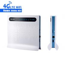 Huawei B593 B593s-931 przemysłowy Router WiFi 4G LTE CPE tanie tanio CN (pochodzenie) wireless 150 mbps 2 4g Wi-fi 802 11g Firewall Soho