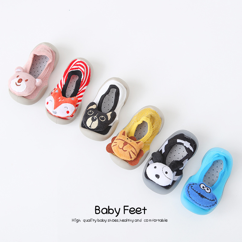 Kid Baby First Walkers Shoes Breathable  Infant Toddler Shoes Girls Boy Cartoon Shoes Soft Bottom Baby Floor Shoes