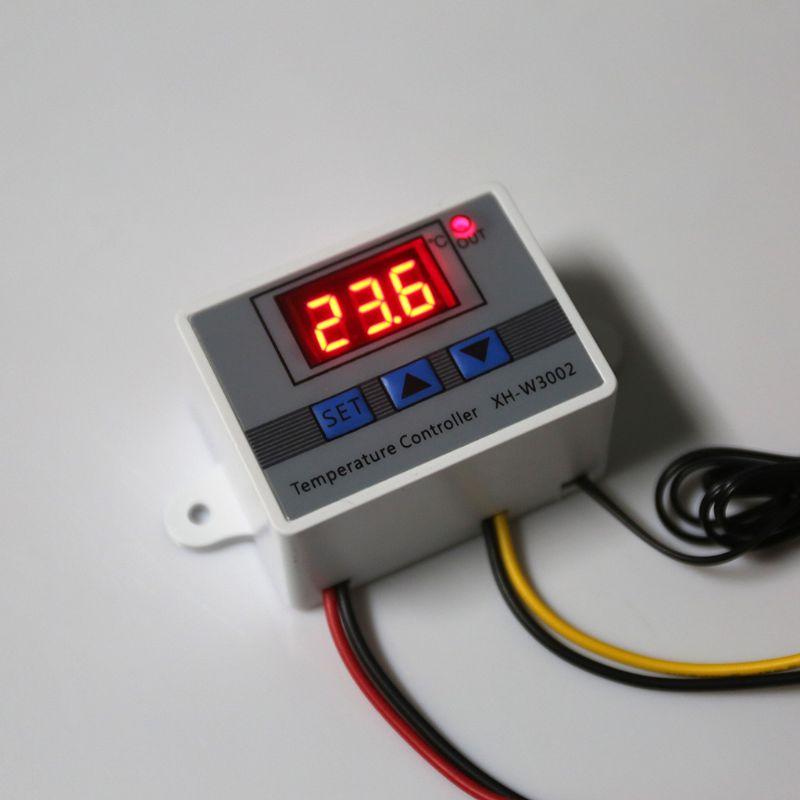12V 24V 220V W3002 Digital Temperature Controller 10A LED Thermostat Regulator