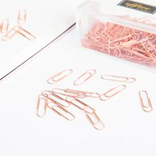200pcs 28mm Small Mini Metal Paper Clips Bookmarks Photos Letter Binder Clip Stationery School Office Supplies jianwu marble style metallic color paper clip apple magnet ring fashion business office lady style office stationery set 28mm