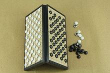 Jeu de société pliable magnétique pour enfants et adultes, jeu d'échecs Gobang Standard International