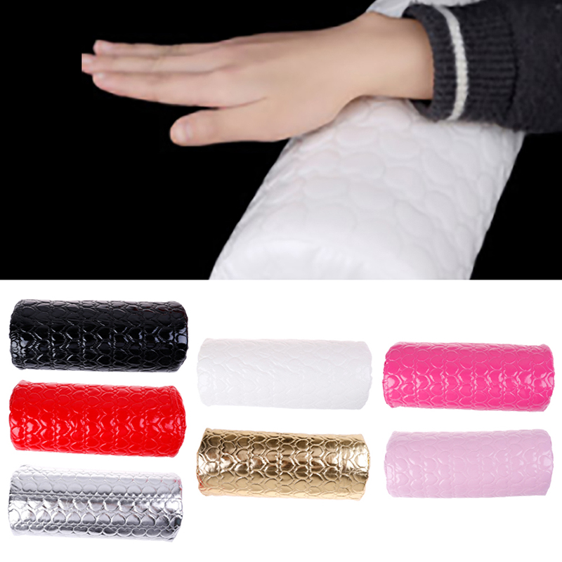 Professional Hand Cushion Holder Soft Nail Pillow Manicure Beauty Nail Mat Pad in Hand Rests from Beauty Health