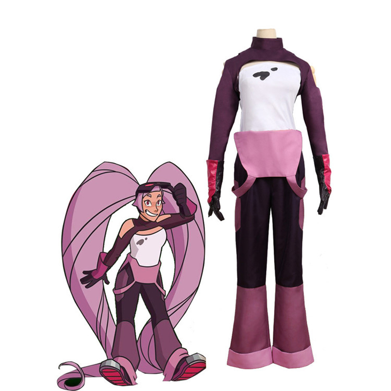 Entrapta Cosplay Costume She-Ra And The Princesses Of Power Set