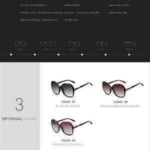 Image 5 - VEITHDIA Brand Designer Vintage Vrouwen Zonnebril Gepolariseerde Retro Luxe Vrouwelijke Zonnebril gafas oculos de sol feminino VT3025