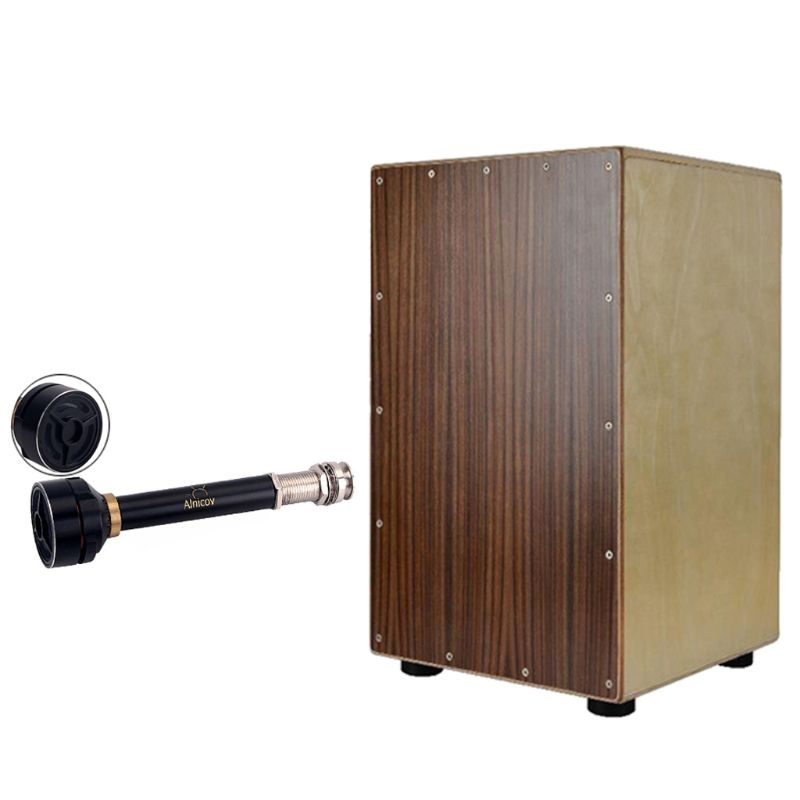 Drum Pickup Easy Installed Percussion Drums Musical Instrument Accessories for WP01 Guitar Alnicov Box  NEW Pakistan