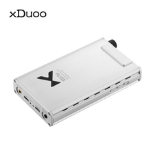 xDuoo XD-05 Plus portable balanced headphone amplifier 1000mW Output Xmous XU208 AK4493  DAC Headphone Amplifiers