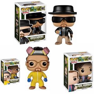 Image 1 - FUNKO POP Breaking Bad HEISENBERG jesus GOODMAN Vinyl Action Figures collezione modello giocattoli per bambini regalo di compleanno
