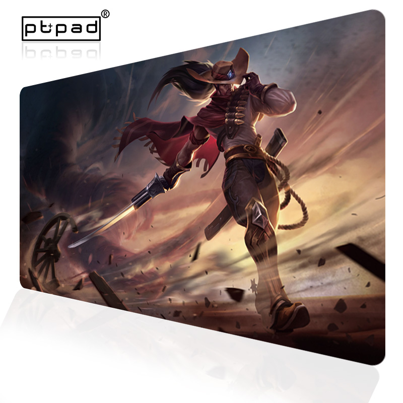 700x400mm Speed Large Gaming Mouse Pad Keyboard Locking Edge Gamer Computer Mousepad League of Legends LOL PC Game Desk Mice Mat