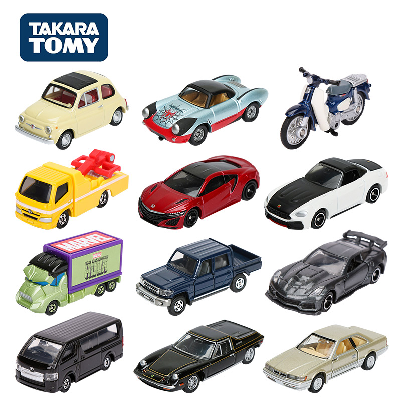 Takara Tomy Car Tomica Premium Metal 1/64 HONDA NISSAN TOYOTA Lotus Fiat Lexus Subaru Auto Cars Vehicle Diecast Model Toys Gift