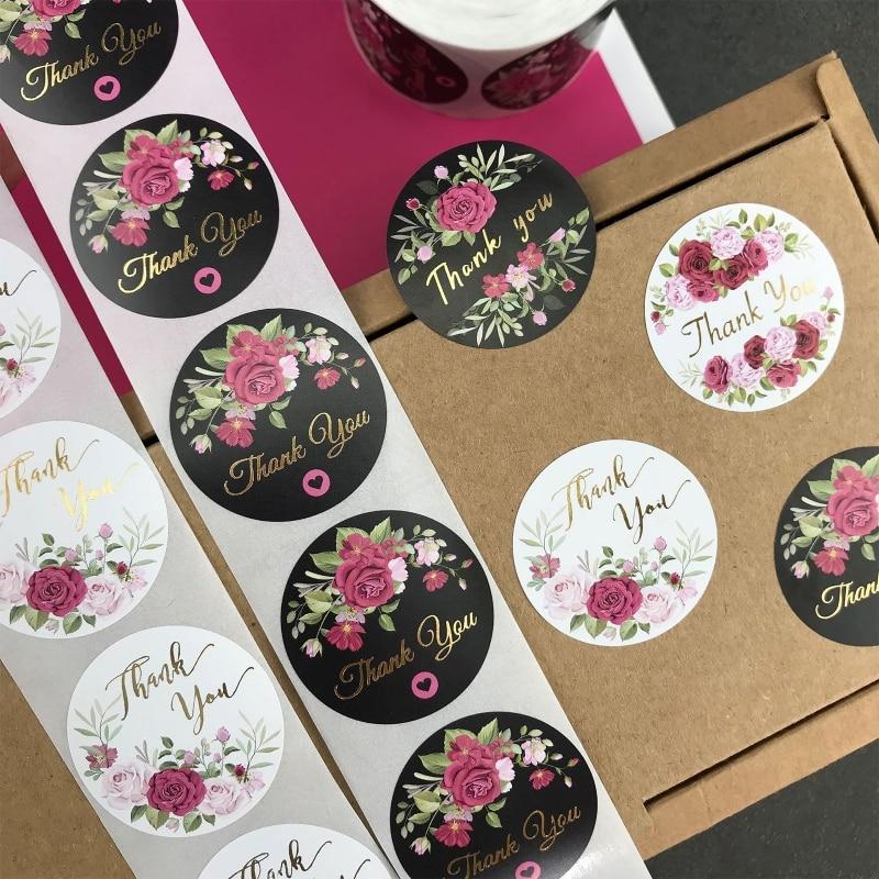 500 pcs / rouleau Fleur Merci Autocollants Décoration De Fête Maison Décoration de La Maison cb5feb1b7314637725a2e7: 1 | 2 | 3 | 4