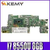 Akemy For Lenovo Miix 520-12IKB MIIX 520 Notebook Motherboard CPU I7 8550U RAM 8GB Tested 100% Work 1
