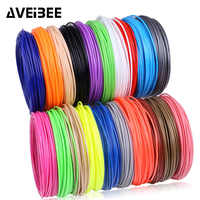 50/100/200 meter ABS PLA 1.75 mm filament plastic for 3d pen No pollution materials 3 d printer pen refills kids birthday gifts