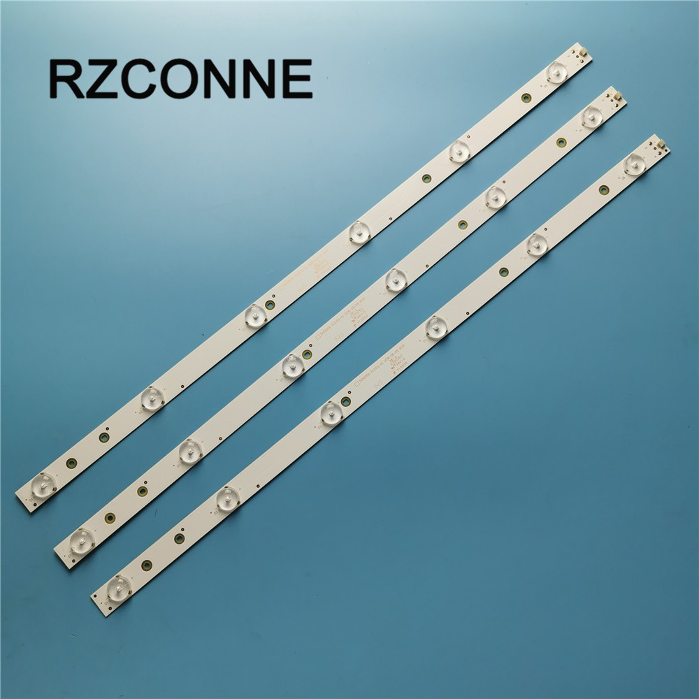 3pcs 560mm 6leds LED Strips Backlight Lamps For ZK52D06-ZC21FG-01