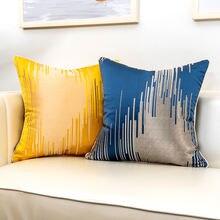 Роскошный чехол для подушки желтого синего зеленого черного