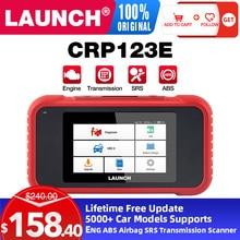השקת CPR123E אוטומטי רכב אבחון סורק OBD2 קוד קורא סורק סוללה מנוע ABS משלוח עדכון PK CR3001 CR123