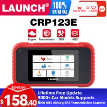 LAUNCH CPR123E Auto Car Diagnostic scanner  OBD2 Code reader  Scanner Battery Engine ABS free update PK CR3001 CR123