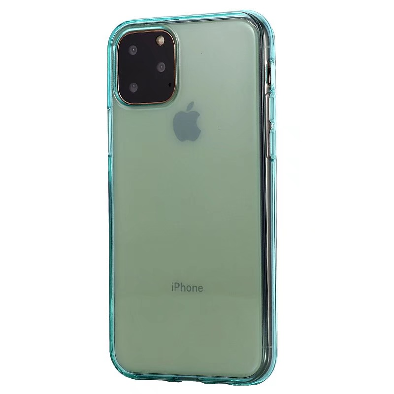 Comanke Transparent Candy Color Silicone Cases for iPhone 11/11 Pro/11 Pro Max 8