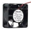 Новый оригинальный NMB 2410ML-04W-B60 6025 12 В 0.40A 6 см двойной шаровой Вентилятор 60 × 60 × 25 мм охлаждающий вентилятор