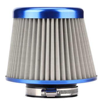 Filtr filtra powietrza filtr powietrza moto 78mm 3 1in wkład do filtra wlotu powietrza ze stali nierdzewnej uniwersalne części Moto r tanie i dobre opinie Zerone CN (pochodzenie)
