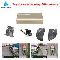 Smartour car 360 Degree 3D HD Bird View Panorama System surround view system Special for Toyota Prado Car DVR 1280P Recording