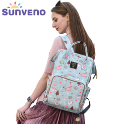 Sunveno Mummy Diaper Bag Large Capacity Baby Bag Travel Backpack Brand maternity baby bag for mom
