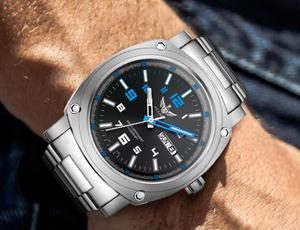 Image 4 - Yelang גברים אוטומטי שעון טריטיום אור T100 טיטניום מקרה שוויץ תנועה 26 תכשיטים WR200M ספיר מכאני Diver