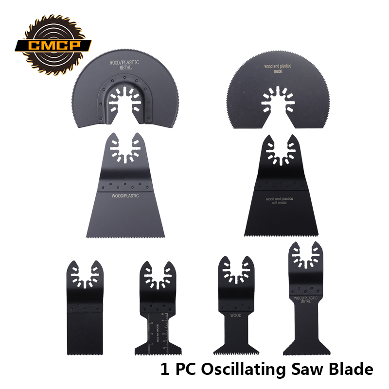 CMCP 1pc E-cut Oscillating Multi Tools Saw Blade For Wood/Metal/Plastics Cutting Disc Multifunction Renovation Tools