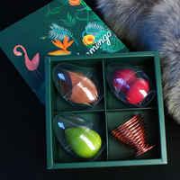 3Pcs High Quality Makeup Puff Set Gourd Shape Makeup Egg Konjac Sponge Smoothie For beauty mixing Creative packaging