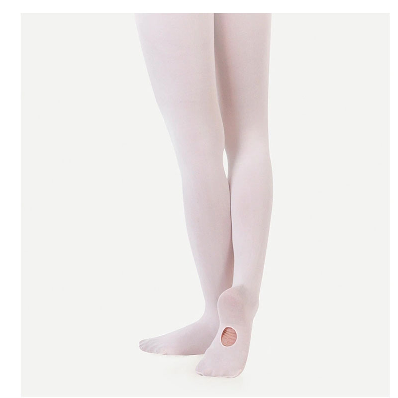 Ballet Dance Tights for Girls Thin Summer Kids Stockings With Hole Soft Children Pantyhose Solid Color Dancing Tights for 2-10Y 5