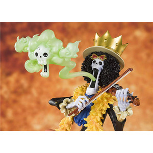 Image 4 - One Piece 20th Anniversary Brook Action Figure 1/8 scale painted figure Zero Anime Ver. Brook PVC figure Toy Brinquedos Anime