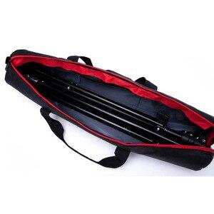 Image 4 - Profesyonel Tripod çantası Monopod kamera çantası omuz taşınabilir Tripod ışık standı paketi Oxford bez çanta fotoğraf saklama çantası