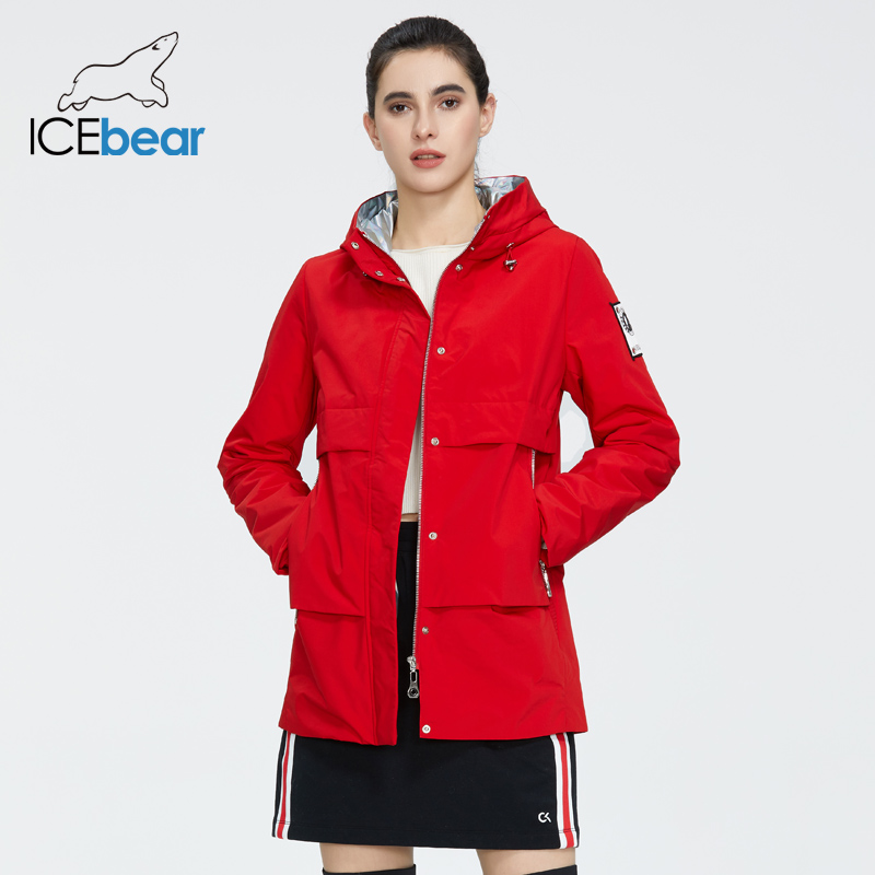ICEbear 2020 Short Women Coat New Spring Women Jacket High Quality Women Coat Brand Apparel GWC20726I