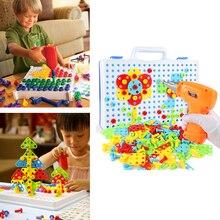 149/193 шт., креативные игрушки для мальчиков, электрическая ловушка, головоломка, развивающие игрушки, жизнь, сборка, мозаика, здание, мальчик, имитация игры