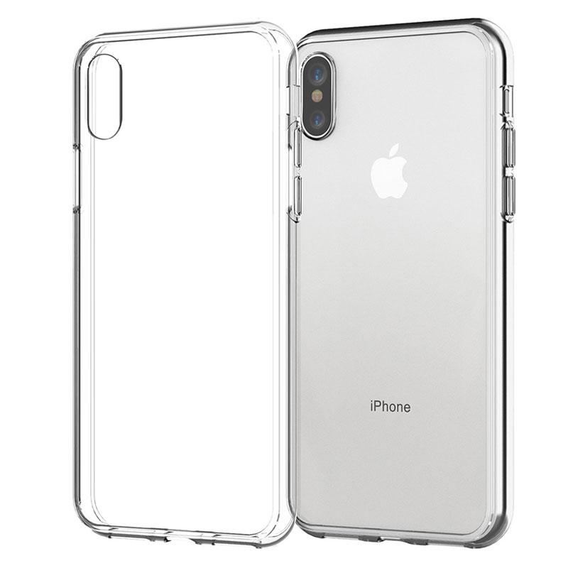 Phone-Case Back-Cover Clear 6s-Plus for XR Silicone Soft 5S Pro-Xs Max-X-8 7 title=