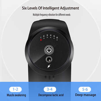 Deep Muscle Massage Gun Massager Body Relaxation Pain Relief Slimming Shaping Massager Muscle Pain Management Sports Fitness