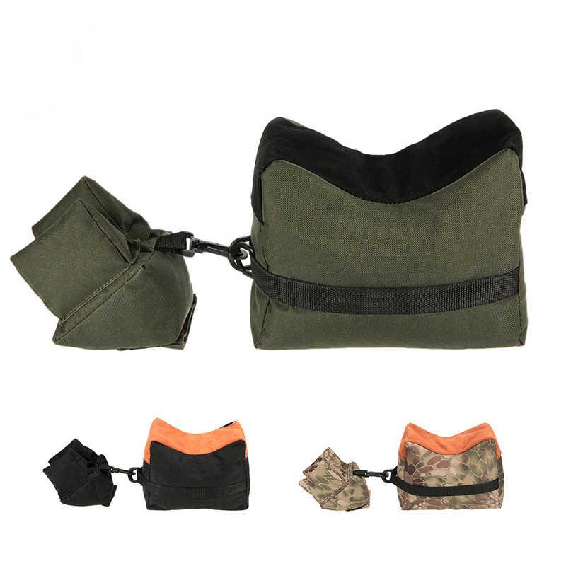 Funda de pistola táctica de nailon para Rifle, funda de Airsoft para pistola, accesorios de caza y Tiro, bolsa de arena con soporte para objetivo militar del ejército
