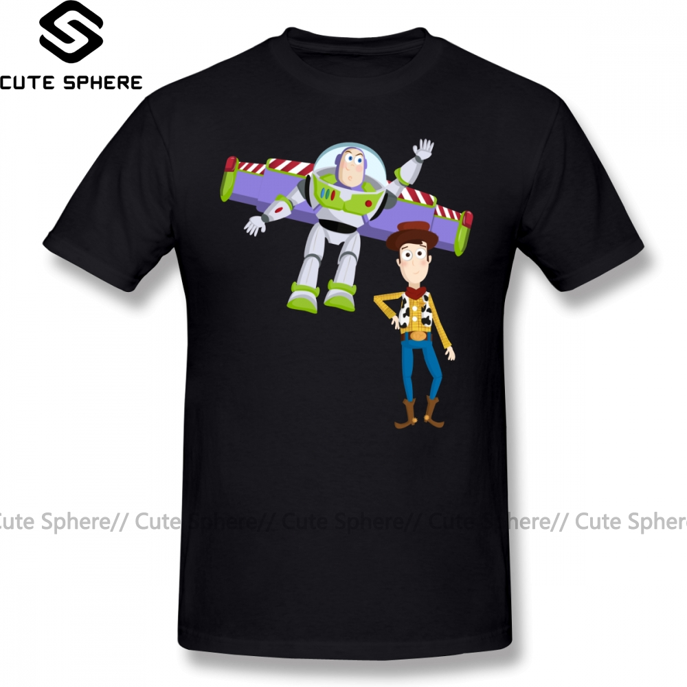 Toy Story Woody and Bullseye Short Sleeve T Shirt