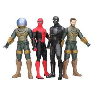 30cm Marvel Legends Mysterio Spiderman daleko od domu figurka 12 cali spider-man gorące zabawki świąteczne dla dzieci