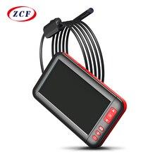 Caméra endoscopique dinspection F200 4.3 pouces HD, objectif 8MM, 8 led, étanche ip67, Endoscope, moniteur de voiture