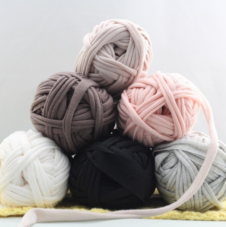 Carpets Blanket Cotton Wool Yarn Basket Cloth Paragraph Soft Baby Cloth DIY Thick Knit Knitting Wool 43 Colors